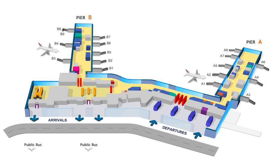 Схема аэропорт алматы