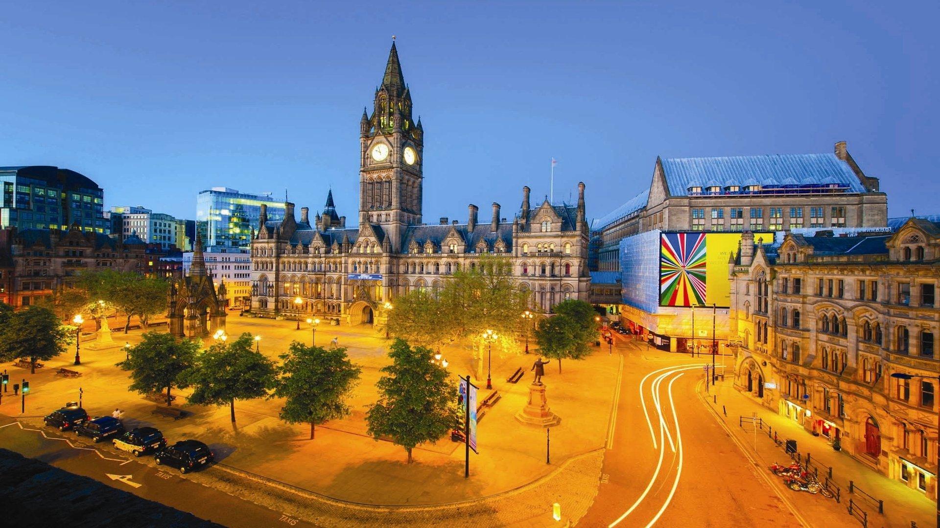Beautiful English cities. Manchester